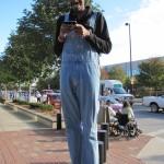 Vernon J in overalls